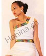 Traditional Ethiopian Dress Menen Tilet and Tilf  መነን ጥልፍ እና ጥለት